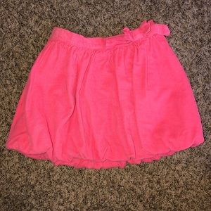 NWOT Cherokee Coral/Pink Corduroy Skirt Size 5T